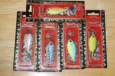 072 Fall Craw Old Color LUCKY CRAFT LVR Mini