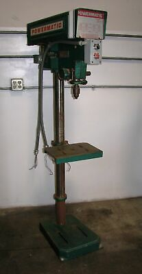 "Powermatic 15"" Floor Drill Press Model 1150A Made in USA 3 Phase 220V"