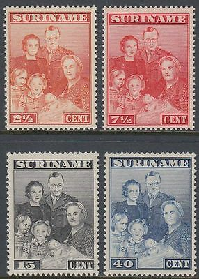 Suriname 1943 ** Mi.233/36 Königsfamilie Royal Family [st0719]