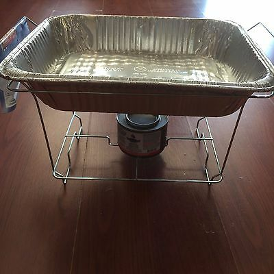 LOT OF 10 PC Food Warmer Wire Frame Stand Rack Half Size Chafing  / Stand /RACK