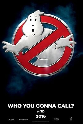 Ghostbusters - original DS movie poster - 27x40 D/S 2016 INTL Advance