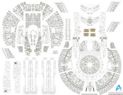 AZTEC DECALS for NX-01 ENTERPRISE 1/350 scale