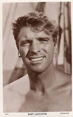 Burt Lancaster Vintage Picturegoer Photo Postcard