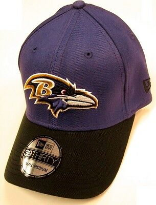 f87f74cb5be1eb Baltimore Ravens NFL NEW ERA TD Classic 39Forty Hat Cap Purple Black Fitted  S/M