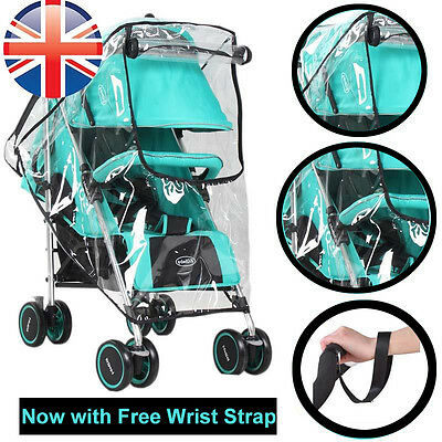 *UK Seller* Universal Baby Pushchair Buggy Stroller Pram Weatherproof Raincover