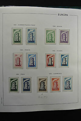 Lot 26021 Collection stamps of Europa Cept 1956-1991.