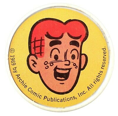 Archie Thermos Cup Lid 1969