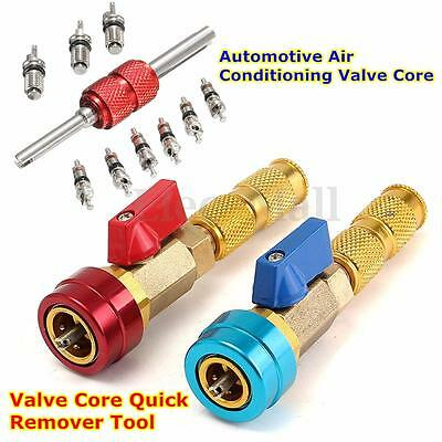 R134a Valve Core Quick Remover Tool A/C Air Conditioning Tire Car Valve Core