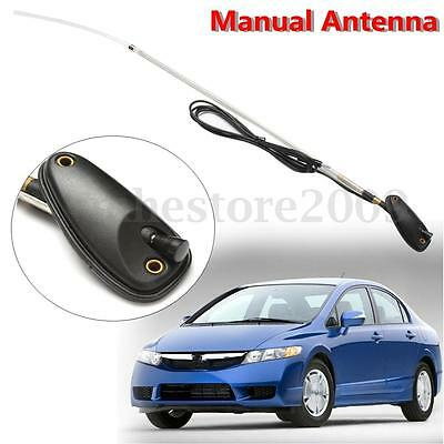 Adjustable Radio Manual AM/FM Aerial Antenna Replacement For 92-02 Honda CIVIC