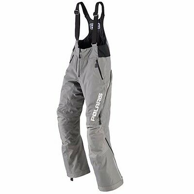 Polaris™ Women's Throttle Insulated Snowmobile Bibs / Pants - Gray - 2865030_