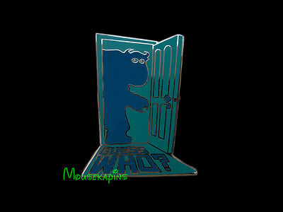 """Monster Inc James P. SULLEY Sullivan """"Guess Who?"""" Disney 2014 Pin"""