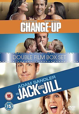 The Change-Up/Jack And Jill [DVD] - Ryan Reynolds (New & Sealed)