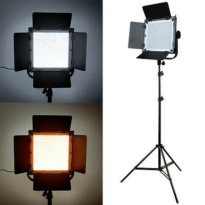 LED Professional Photography Studio Video Light Panel Camera Photo Lighting Stan