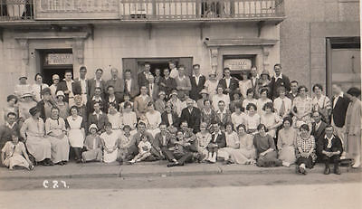 Chelsea House Jersey Channel Islands 1925 House Party Antique RPC Postcard