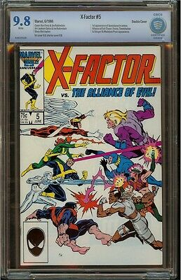 X-Factor #5 CBCS 9.8 NM/M (Double Cover) Not CGC