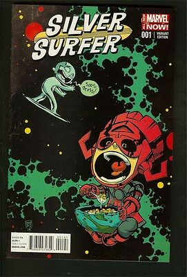Silver Surfer (2013) #1 NM+ (Scotty Young Variant, Marvel Now)