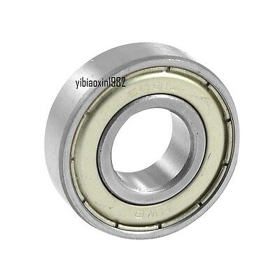 6001ZZ Bearing 12x28x8 Shielded 6001 ZZ 2Z 6001Z 12mm Axle/Bore/Diameter/ID mm