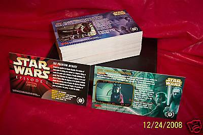 Topps Star Wars Episode 1 Widevision Card Set