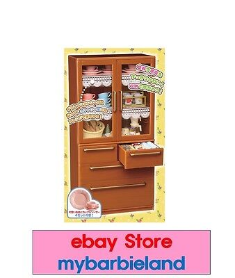 """Re-ment CABINET """"NEW"""" MINIATURE BARBIE KITCHEN FURNITURE 1/6 SCALE FOOD"""