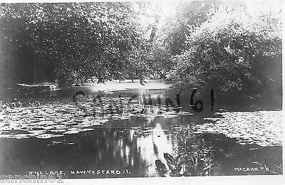 HAWKESYARD , THE LAKE NR RUGELEY STAFFORDSHIRE RP PUBL McCANN UITTOXETER C1906