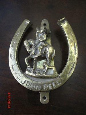Brass John Peel Door Knocker