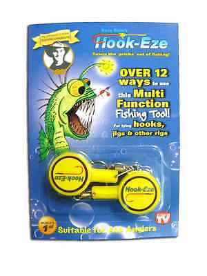 Hook Eze Hook Tyer with line cutter in 3 Colours