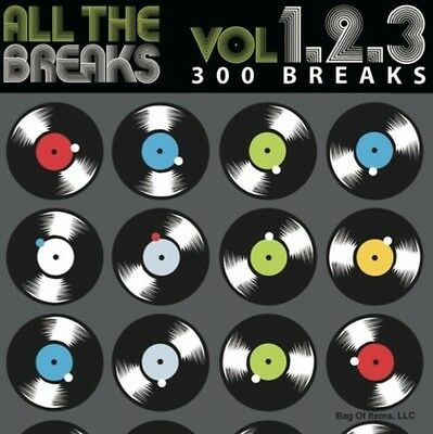 All The Breaks Vol. 1+2+3 - Various Artist (2016, CD New)