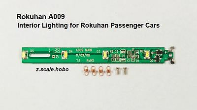 Rokuhan A009 Z Scale Passenger Car/Coach Interior Lighting Kit *NEW inUSA $0SHIP