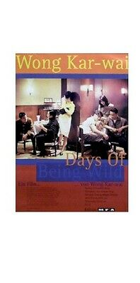 DAYS OF BEING WILD ~ INTL 27x40 MOVIE POSTER Wong Kar-Wai Leslie Cheung