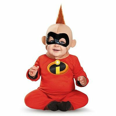 The Incredibles Baby Boys' Baby Jack Deluxe Infant Costume | Disguise 85611
