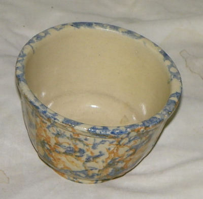 Antique Red Wing Pottery Sponge ware Bowl – Number 5 – Stoneware