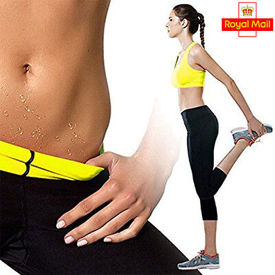 Women Sports waist & Legs Gym Slimming Sauna Suit Sweat Hot Neoprene Body Shaper