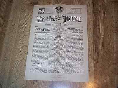 Reading Moose - Reading PA Lodge No 155  VOL1 No 9  June 1925