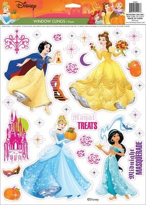 Disney Princess Window Clings Halloween Prop Decoration NEW Snow White Belle