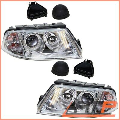 2X Headlamp Headlight H7/h7 Left+Right Vw Passat 3B 3Bg 00-05