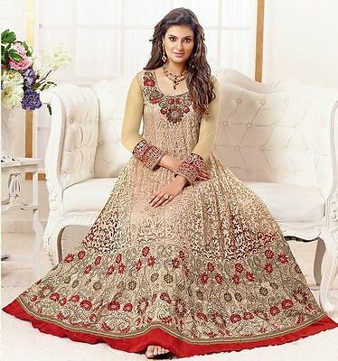 Designer Anarkali Salwar Kameez Indian Dress Bollywood Party Wear Ethnic R18