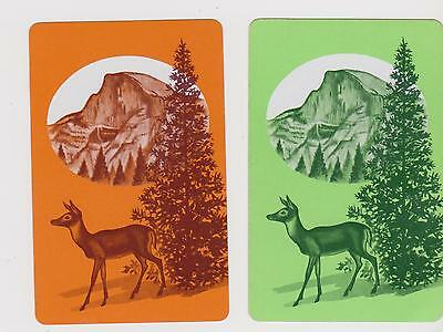 Forest Dweller X 2  Only Single Vintage .Playing/Swapcards....