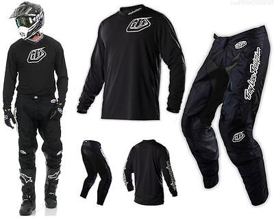 Troy Lee Designs GP Midnight Combo schwarz Hose Shirt Enduro Motocross Downhill