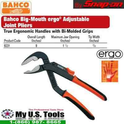 Bahco  2430G-140 Long Nose Plier 140MM