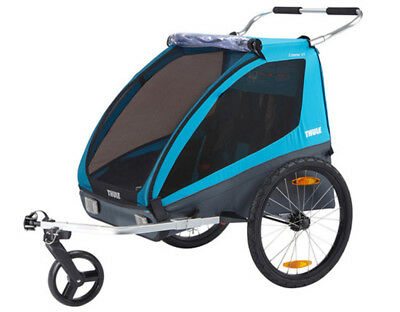 Thule 10101803 Coaster XT Bicycle Trailer And Stroller Blue