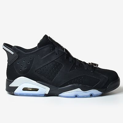 4bed4bddd68b Air Jordan 6 Retro Low Chrome 2015 Black Silver White Vi Ds Nike 304401-003