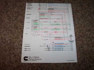 cummins isle4 cm850 electrical wiring diagram manual