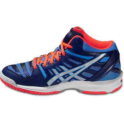 SCARPE VOLLEY DONNA ASICS GEL BEYOND 4 MT pallavolo girl blue silver coral