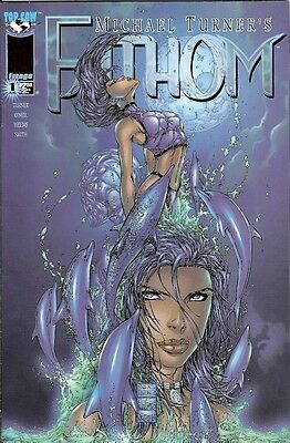 Fathom #1  (Image) (Turner) Dolphin Cover (Nm-)