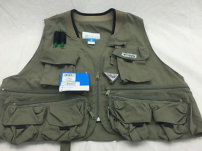 Columbia Henry Fork III Fly Fishing Vest in Sage