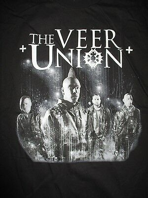 Canadian Rock Band THE VEER UNION (XL) T-Shirt