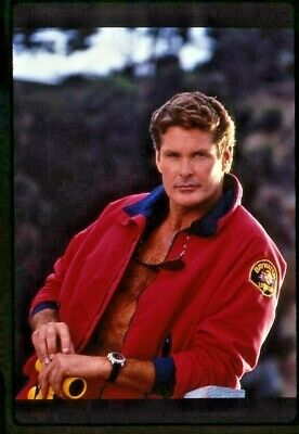 BAYWATCH STARRING David Hasselhoff PAMELA ANDERSON  ORIGINAL SLIDE 12