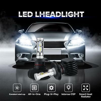 2x H4 9003 HB2 18000LM 180W LED Headlights Kit 6500K High Low Dual Beam Bulbs