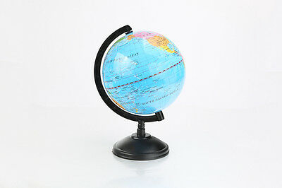 "6"" Educational Toy World Globe Map Earth Swivel Stand Up Office Boys Rotating"