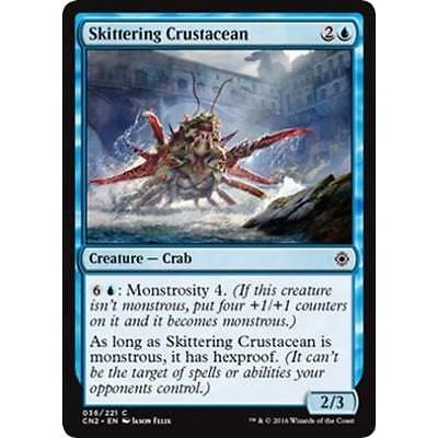 MTG CONSPIRACY: TAKE THE CROWN * Skittering Crustacean x4